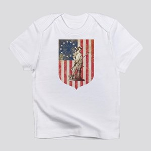Concord Minuteman, Shield Infant T-Shirt