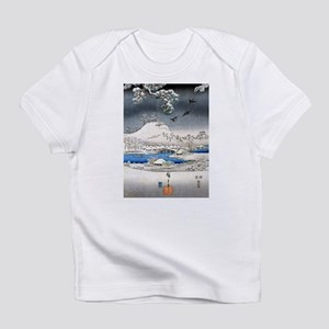 Viewing the Snow (center) Infant T-Shirt