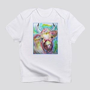 Cow, colorful, art, Infant T-Shirt