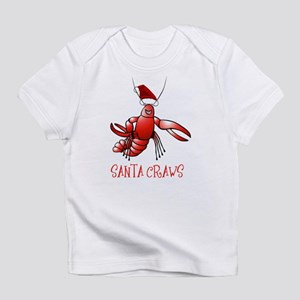 Santa Craws - Crawdad Christmas Infant T-Shirt