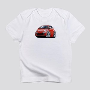 Fiat 500 Red Car Infant T-Shirt