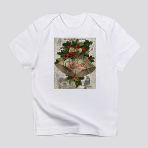 Merry Christmas vintage bells Infant T-Shirt
