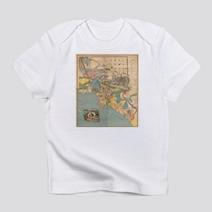 Vintage Map of Los Angeles County CA (1888 T-Shirt