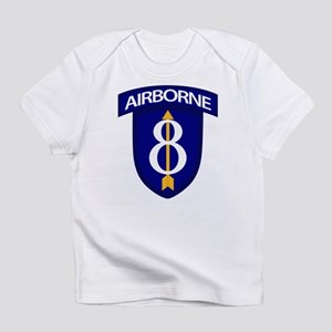 8th Infantry Airborne Infant T-Shirt
