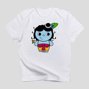 Krishna Krsna Blue Boy Cartoon Drawing Cute L Baby T Shirts Cafepress