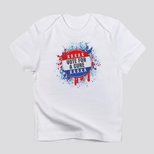 Vote for a Cure For Cancer Infant T-Shirt