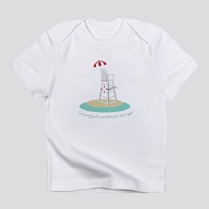 One Beach at a Time Infant T-Shirt
