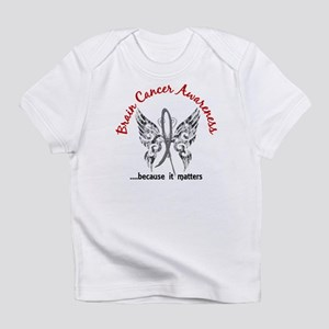 Brain Cancer Butterfly 6.1 Infant T-Shirt