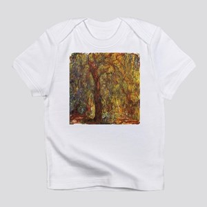 Weeping Willow by Claude Monet Infant T-Shirt