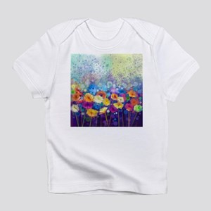 Floral Painting Infant T-Shirt