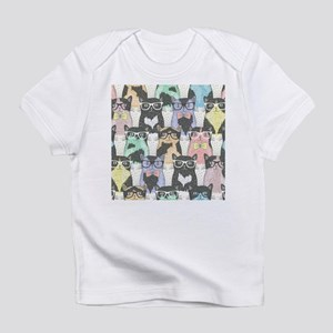 Hipster Cats Infant T-Shirt
