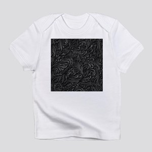 Black Flourish Infant T-Shirt