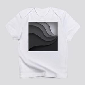 Black Abstract Infant T-Shirt