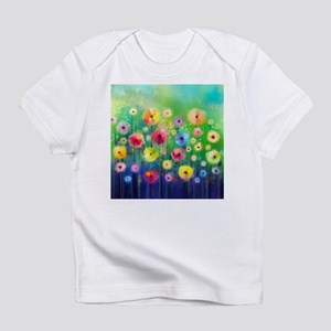 Watercolor Flowers Infant T-Shirt