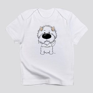 Big Nose Westie Infant T-Shirt