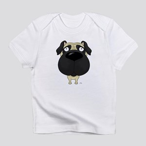 Big Nose Pug Infant T-Shirt