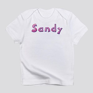 Sandy Pink Giraffe Infant T-Shirt