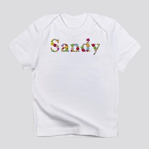 Sandy Bright Flowers Infant T-Shirt