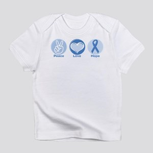 Peace LtBl Hope Infant T-Shirt