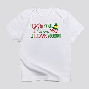 I Love You Elf Movie Quote T-Shirt