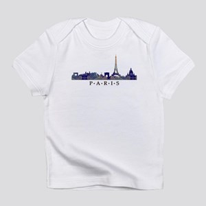 Mosaic Skyline of Paris France Infant T-Shirt