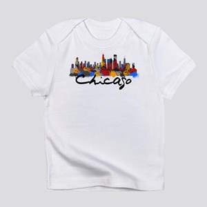 Chicago Illinois Skyline Infant T-Shirt