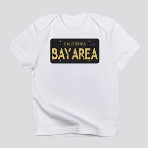 Bay Area calfornia old license Infant T-Shirt