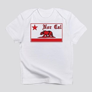 nor cal bear red Infant T-Shirt