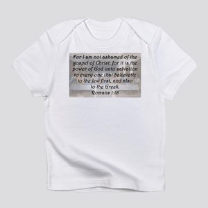 Romans 1:16 Infant T-Shirt