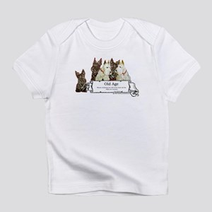 Old Age Scottish Terriers Infant T-Shirt