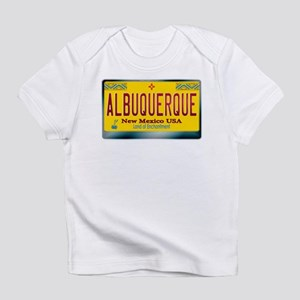 """ALBUQUERQUE"" New Mexico License Plate Infant T-Sh"