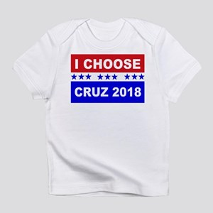 I Choose Cruz bold print Infant T-Shirt