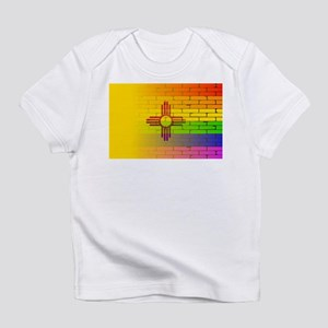 Rainbow Wall New Mexico Infant T-Shirt