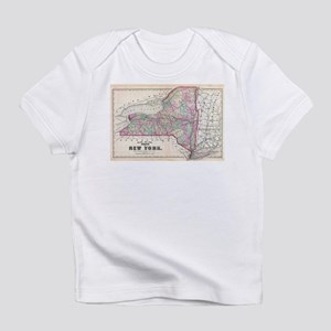 Vintage Map of New York (1873) T-Shirt