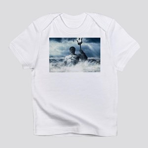 Neptune Rising from the Waves Infant T-Shirt