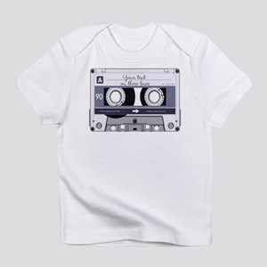 Customizable Cassette Tape - Grey Infant T-Shirt