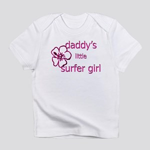 Daddy's Little Surfer Girl Infant T-Shirt