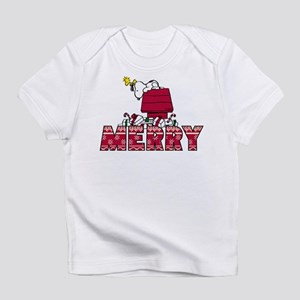 Snoopy Merry Infant T-Shirt