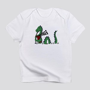 Loch Ness Monster Bagpipes Infant T-Shirt