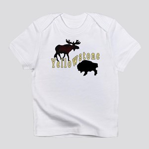 Bison Moose Yellowstone Infant T-Shirt