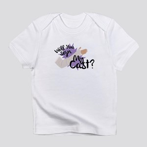 Sign My Cast Infant T-Shirt