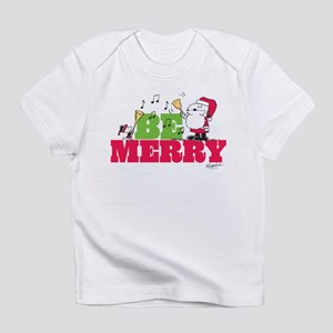 Snoopy: Be Merry Infant T-Shirt