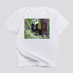 Baby Black Bear - Psalms 62-6 Infant T-Shirt