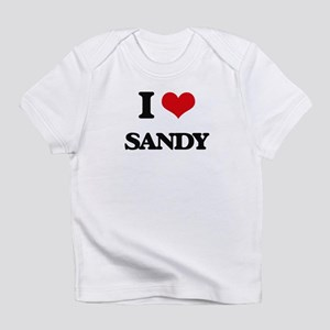 I Love Sandy Infant T-Shirt