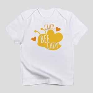 Crazy Bee Lady Infant T-Shirt