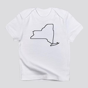 New York Outline Infant T-Shirt