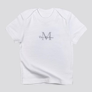 Monogrammed Duvet Cover Infant T-Shirt