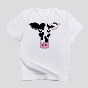 Sweet Cow Face Design Infant T-Shirt