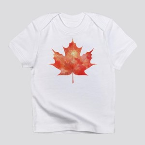 Maple Leaf Art Infant T-Shirt