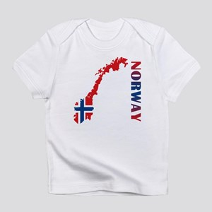 Map Of Norway Infant T-Shirt